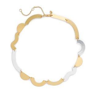 Madewell Flat Form Geometric Necklace